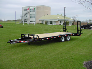 Bumper-Pull Low Trailers