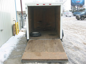 Narrow-Body Enclosed Cargo Trailer