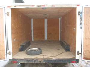 Wide-Body Enclosed Cargo Trailers