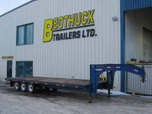 Gooseneck High Trailers