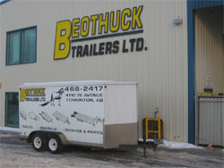 Enclosed Cargo Rental Trailers